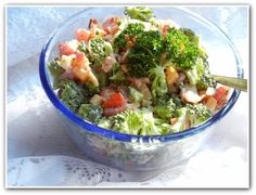 Broccoli Almond Salad - Will Cook For Smiles