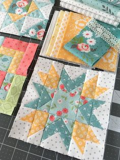 Carried Away Quilting sews the November blocks for the Summer Moon Quilt Along with Fat Quarter Shop and Carrie Nelson. Lone Star Quilt, Star Quilt Blocks, Quilt Block Patterns, Small Quilts, Easy Quilts, Mini Quilts, Quilting Projects, Quilting Designs, Cute Sewing Projects