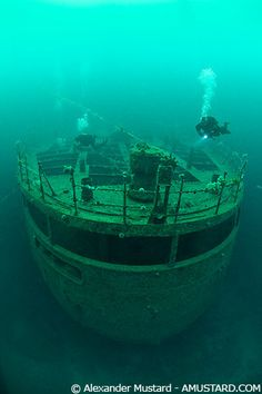 Wreck off Gulen, Norway
