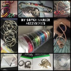 DIY ACCESSORIES - to use with metallic n rubber jump rings- beads, charms, key rings, phone plugs and jewellery! make as many as you need! by MagpieLaneCrafts on Etsy