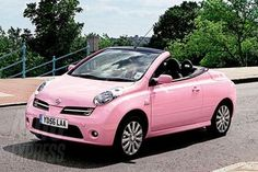 Girly Cars Every Women Will Love!: Cool Renault Pink Convertible - Girly Cars for Female Drivers! Love Pink Cars ♥ It's the dream car for every girl ALL THINGS PINK!