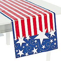 Stars & Stripes Tablecloth
