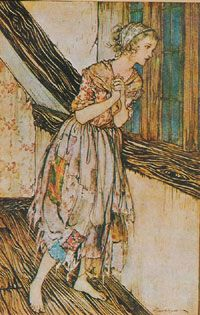 Cinderella illustrated by Arthur Rackham