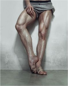 Dance by Erwin Olaf. #photography #dancer. I love dancer's legs.....and rugby player's thighs....but that'll be another pin.....