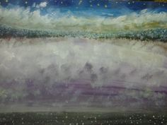 """The Upper Universe"" Painted By Fadi Abu-Deeb"