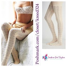 FREE PEOPLE Tights Sweater Legging Textured Boot One Size Fits All.  New with tags.  $28 Retail + Tax.   Beige textured pointelle knit sweater leggings with elastic waistband.  Soft, stretchy and chic.    Acrylic, polyamide, wool, spandex.  Imported.     ❗️ Please - no trades, PP, holds, or Modeling.    Bundle 2+ items for a 20% discount!    Stop by my closet for even more items from this brand!  ✔️ PRICE IS FIRM. No offers please. Free People Accessories Hosiery & Socks