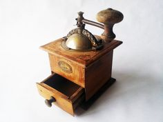 Antique French Vintage wooden COFFEE by PetitesChosesDeLaVie, $70.00