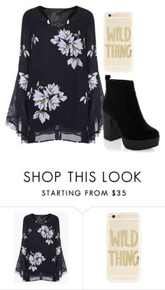 """""""Green-eyed monster"""" by pixie-inspired ❤ liked on Polyvore featuring Sonix and New Look"""