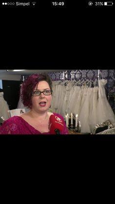 #interview #happy #tv #bride #wedding #WomenWants #Zaandam