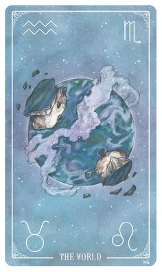 The World, by Krista GibbardPRE-ORDER your deck here!