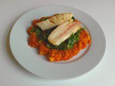 Aneta Goes Yummi: Pečená ryba a červené pyré s chuťou Blízkeho výcho...