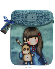 Bolsas e Pastas p/ Portáteis e Tablets : Gorjuss Capa para IPad - Hush Little Bunny