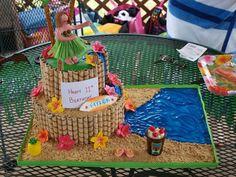 Luau Cake — Childrens Birthday Cakes