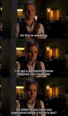 Veronica Mars.. Oh I love that show!