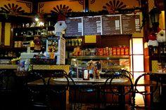 cafe interiors by _gem_, via Flickr Coffee Shop Design, Cafe Design, Farm Cafe, Cafe Interiors, Gem, Restaurant, Ideas, Cafeteria Design, Diner Restaurant