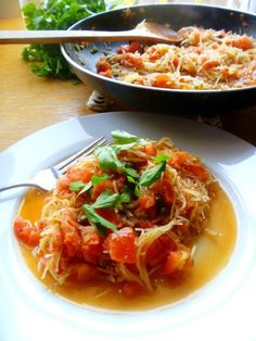 """Spaghetti Squash Puttanesca..  Coming Soon eatfit!!!  """"You are what you eat, so #eatfit!"""" Weight loss and so much more Delicious and nutritious"""