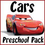 FREE Cars Preschool Pack