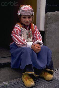 Child in Dutch Costume #NoordHolland #Marken