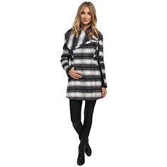 (サムエデルマン) Sam Edelman レディース アウター ジャケット Novelty Wool Asymmetrical Clip Coat 並行輸入品  新品【取り寄せ商品のため、お届けまでに2週間前後かかります。】 カラー:Navy Plaid 商品番号:ol-8610841-43774