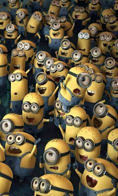 Minions from Despicable Me.Lots of Minions! Cute Minions, Minions Despicable Me, My Minion, Minions 2014, Minion Things, Ipod Wallpaper, Background Hd Wallpaper, Minion Wallpaper, Desktop Wallpapers