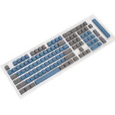 Ducky SHINE 4 Mechanical Keyboard Cherry MX Blue Switch Dual Red