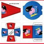 Kit de George Pig pirata para imprimir gratis Peppa Pig, George Pig, Kids Rugs, Kit, Salvador, Party, Printable, Disney, Free Printable