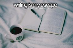 Words make me feel free, whether they come from reading or writing it does not matter...