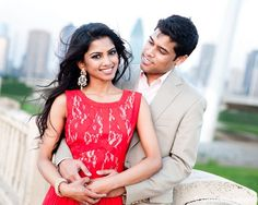 indian engagement portraits outdoor http://maharaniweddings.com/gallery/photo/12855