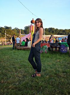Style Trunk: Dungarees at Glastonbury