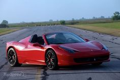 Back in Gregorian calendar month, Hennessey Performance declared that it had been making ready to update the 2013 Ferrari 458 European country Spider. Now, it\'s just like the upgrade is complete, because the tuner took the 458 Spider HPE700 out for testing.