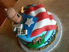 Puerto Rico!!!! Decorating Tips, Cake Decorating, Thanksgiving Cakes, Puerto Ricans, My Heritage, Pretty Cakes, Cakes And More, Themed Cakes, 40th Birthday