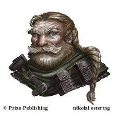 Pathfinder - Durgal Mircask by NikolaiOstertag Fantasy Dwarf, Fantasy Rpg, Medieval Fantasy, Fantasy Forest, Fantasy Portraits, Character Portraits, Character Concept, Character Art, Character Design
