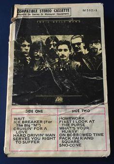 Memorabilia: J. Geils Band Debut USA Cassette Snapcase November 1970 ~ The J. Geils Band.Net