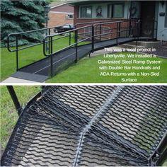 Best Ada Ramp Handrail Stairs Ramps Trails Pinterest 640 x 480