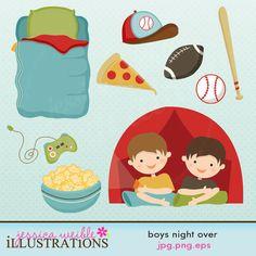 Boys Night Over!