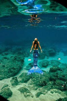 mermaid #planetblue