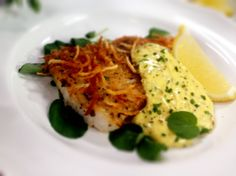 @Home and Family #Recipes #Potato Encusted #Halibut #CristinaCooks #HallmarkChannel