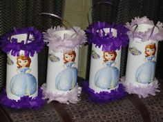 Sofia The First Birthday Party Mini Pinatas Candy Goody Bags Favors | texasfavors - Seasonal on ArtFire