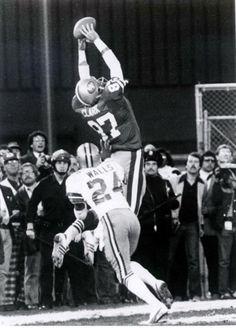The Catch!!! Joe Montana to Dwight Clark - 1982
