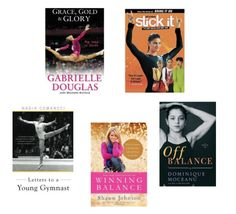 Gymnastics Books & Movies. 100 #gymnastics #gift ideas #giftsforgymnast