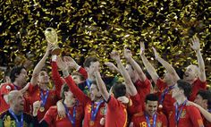 celebration for 2010 fifa world cup Spain Soccer, World Cup Russia 2018, Fifa World Cup, Champion, Celebration, Football, Sports, Spain, Hs Sports