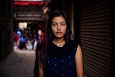 Amazing eyes in Kathmandu, Nepal!