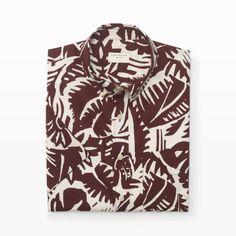 Short-Sleeve Palm Shirt - Short Sleeve Casual Shirts at Club Monaco
