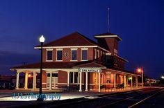Santa Fe Train Depot, San Angelo, Texas