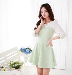 El invierno ya terminó en Corea del Sur, y las chicas coreanas han renovado su armario con prendas primaverales.