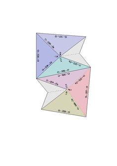 Origami Diamond By Satoshi Kamiya