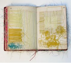 Sharon Etgar Sewing Book - pages 57 - 58 [First book] 13 x 19 cm 2011