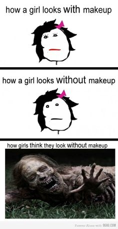 no i KNOW i look like that without makeup