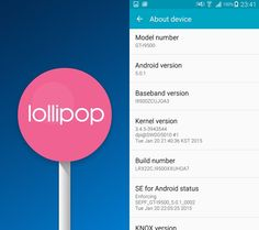 How to install Android 5.0.1 Lollipop I9500XXUHOA7 official firmware on Galaxy S4 (Exynos 5)
