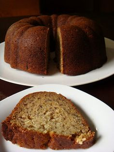 While on vacation my mom stayed at our house to dog sit and bought bananas. I swore I would eat them but now its Thursday and they are almos. Banana Bundt Cake, Banana Bread, Bundt Cakes, Patti Labelle Recipes, Angel Food Cake, Chocolate Muffins, Pie Dessert, Cookie Bars, Baked Goods